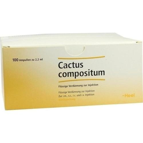 Cactus compositum, 100 ST, Biologische Heilmittel Heel GmbH