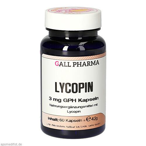 Lycopin 3mg GPH Kapseln, 60 ST, Hecht-Pharma GmbH