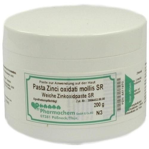 PASTA ZINCI OXI MOLLIS SR, 200 G, Pharmachem GmbH & Co. KG