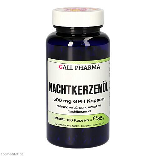 Nachtkerzenöl Kapseln, 120 ST, Hecht-Pharma GmbH