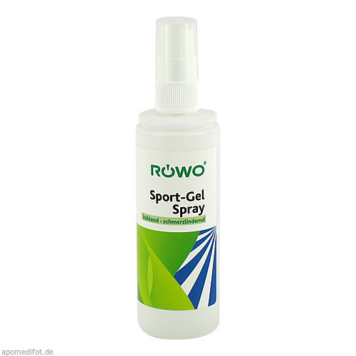 Sport-Gel Spray röwo, 100 ML, Ferdinand Eimermacher GmbH & Co. KG