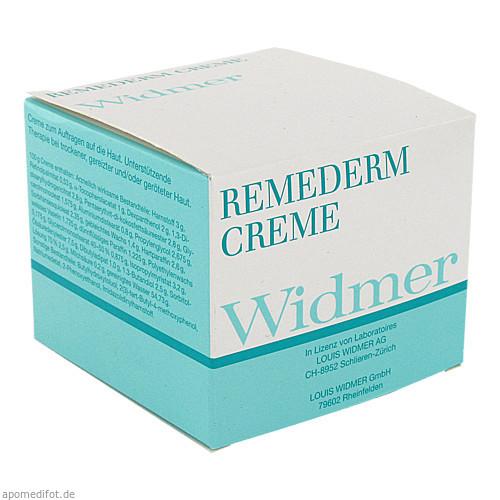 Widmer REMEDERM CREME UNPA, 250 G, Louis Widmer GmbH