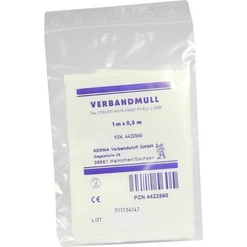 VERBANDMULL 1MX0.5M UNSTERIL, 1 ST, Kerma Verbandstoff GmbH