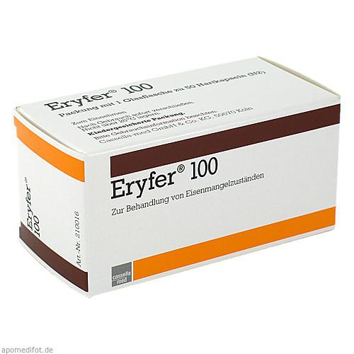 ERYFER 100, 50 ST, Cheplapharm Arzneimittel GmbH