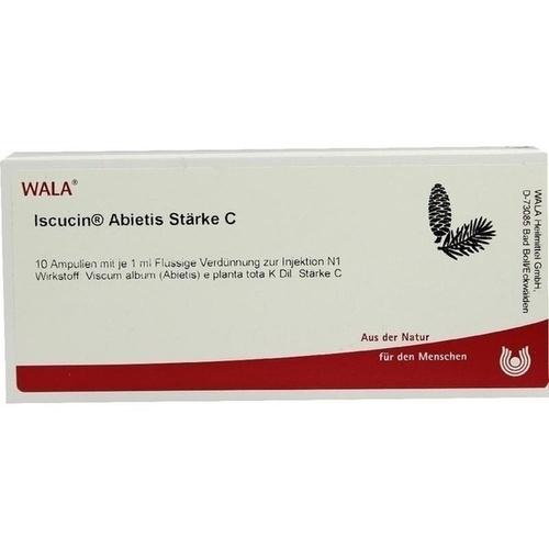 ISCUCIN ABIETIS STAERKE C, 10X1 ML, Wala Heilmittel GmbH