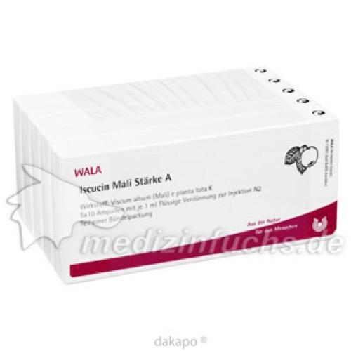 ISCUCIN MALI STAERKE A, 50X1 ML, Wala Heilmittel GmbH