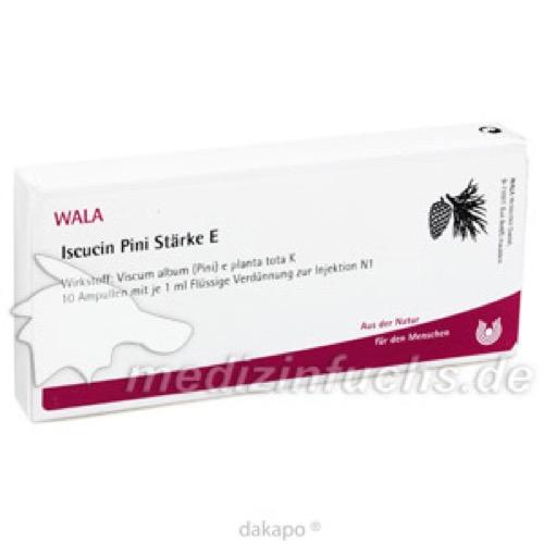 ISCUCIN PINI STAERKE E, 10X1 ML, Wala Heilmittel GmbH