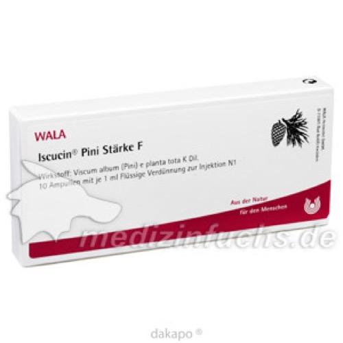 ISCUCIN PINI STAERKE F, 10X1 ML, Wala Heilmittel GmbH