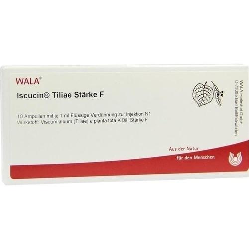 ISCUCIN TILIAE STAERKE F, 10X1 ML, Wala Heilmittel GmbH