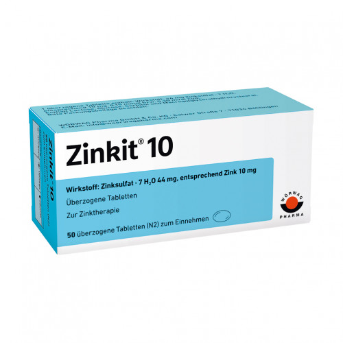 ZINKIT 10, 100 ST, Wörwag Pharma GmbH & Co. KG
