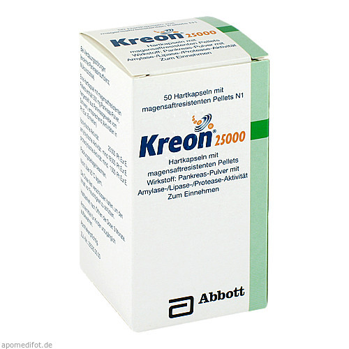 KREON 25000, 50 ST, Mylan Healthcare GmbH