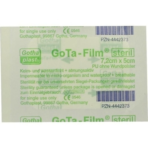 GoTa-FILM steril 7.2cmx5cm, 1 ST, Gothaplast GmbH