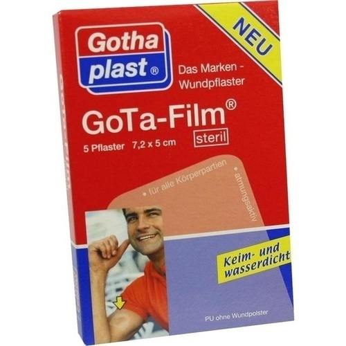 GoTa-FILM steril 7.2cmx5cm, 5 ST, Gothaplast GmbH
