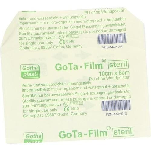 GoTa-FILM steril 10cmx6cm, 1 ST, Gothaplast GmbH