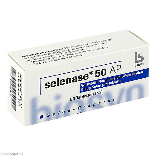 selenase 50 AP, 50 ST, Biosyn Arzneimittel GmbH