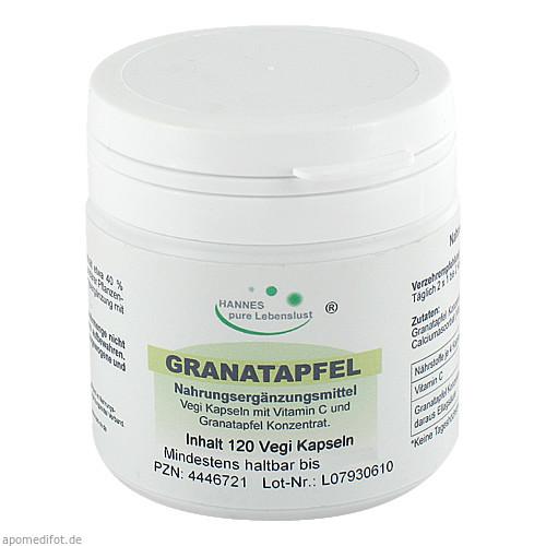 Granatapfel Konzentrat 40% Vegi Kapseln, 120 ST, G & M Naturwaren Import GmbH & Co. KG