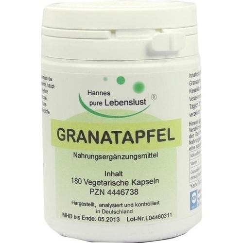 Granatapfel Konzentrat 40% Vegi Kapseln, 180 ST, G & M Naturwaren Import GmbH & Co. KG