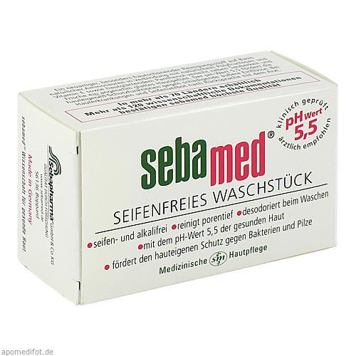SEBAMED SEIFENFREIES WASCHSTUECK, 50 G, Sebapharma GmbH & Co. KG
