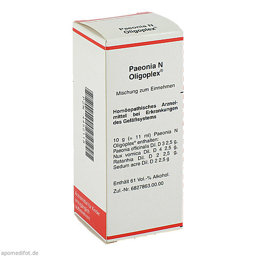 Paeonia N Oligoplex, 50 ML, MEDA Pharma GmbH & Co.KG
