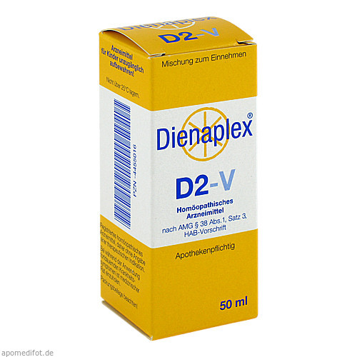 DIENAPLEX D2-V, 50 ML, Beate Diener Naturheilmittel E.K.