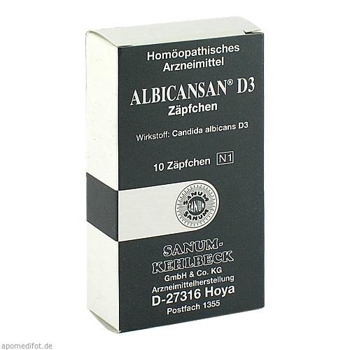 ALBICANSAN D 3, 10 ST, Sanum-Kehlbeck GmbH & Co. KG