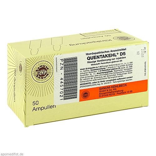 QUENTAKEHL D 5, 50X1 ML, Sanum-Kehlbeck GmbH & Co. KG