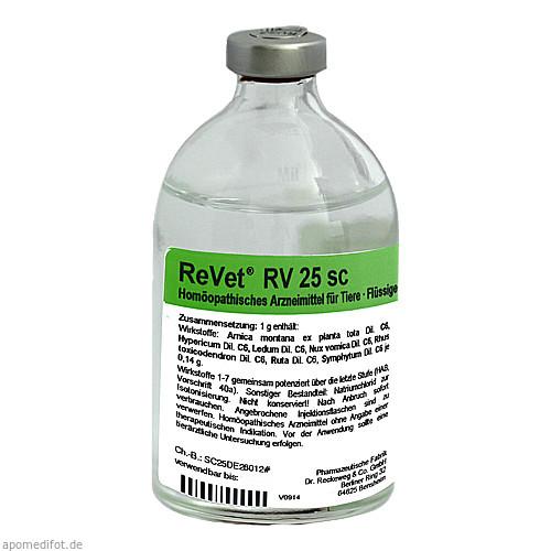 REVET RV 25 sc Inj.-Lösung vet., 100 ML, Dr.RECKEWEG & Co. GmbH