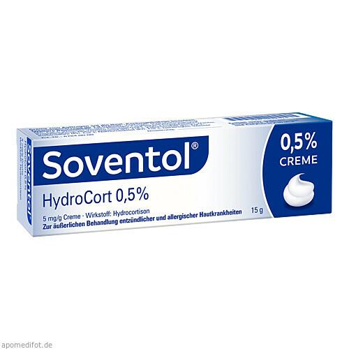 Soventol HydroCort 0.5% Creme, 15 G, Medice Arzneimittel Pütter GmbH & Co. KG