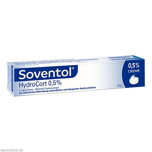 Soventol HydroCort 0.5% Creme, 30 G, Medice Arzneimittel Pütter GmbH & Co. KG