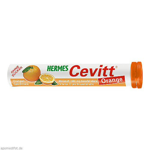 HERMES Cevitt Orange, 20 ST, Hermes Arzneimittel GmbH