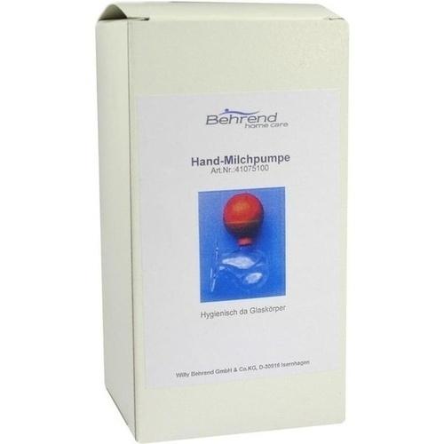 HANDMILCHPUMPE M AUFBEHAEL, 1 ST, Willy Behrend GmbH + Co. KG