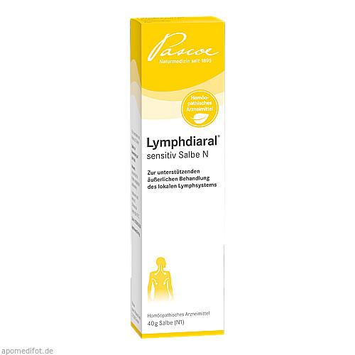 LYMPHDIARAL sensitiv Salbe N, 40 G, Pascoe Pharmazeutische Präparate GmbH
