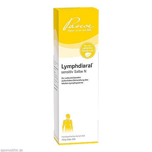 LYMPHDIARAL sensitiv Salbe N, 100 G, Pascoe Pharmazeutische Präparate GmbH