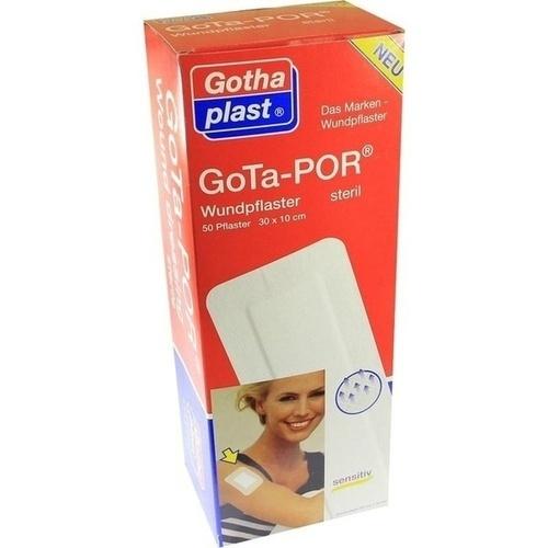 GoTa-POR Wundpflaster steril 300mmx100mm, 50 ST, Gothaplast GmbH