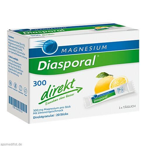 Magnesium-Diasporal 300 direkt, 20 ST, Protina Pharmazeutische GmbH