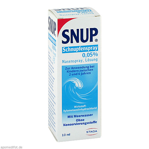 Snup Schnupfenspray 0.05%, 10 ML, STADA Consumer Health Deutschland GmbH