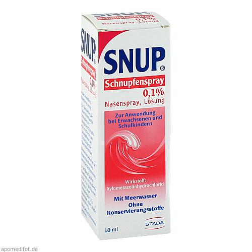 Snup Schnupfenspray 0.1%, 10 ML, STADA GmbH