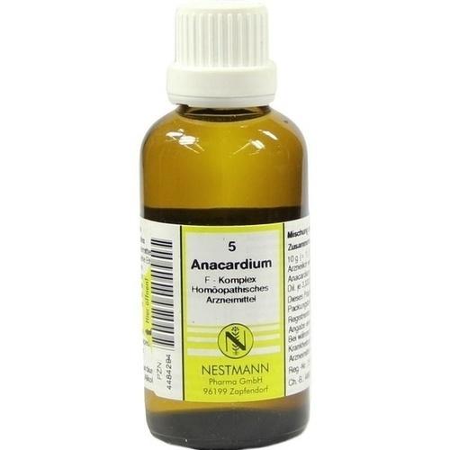 5 Anacardium F Komplex, 50 ML, Nestmann Pharma GmbH