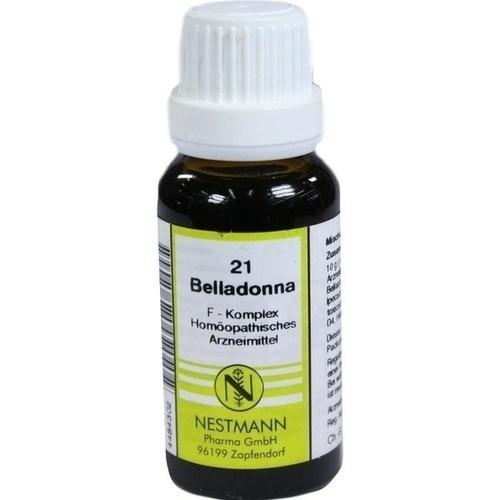 21 Belladonna F Komplex, 20 ML, Nestmann Pharma GmbH