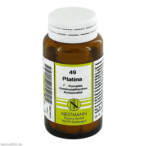 49 Platina F Komplex, 120 ST, Nestmann Pharma GmbH