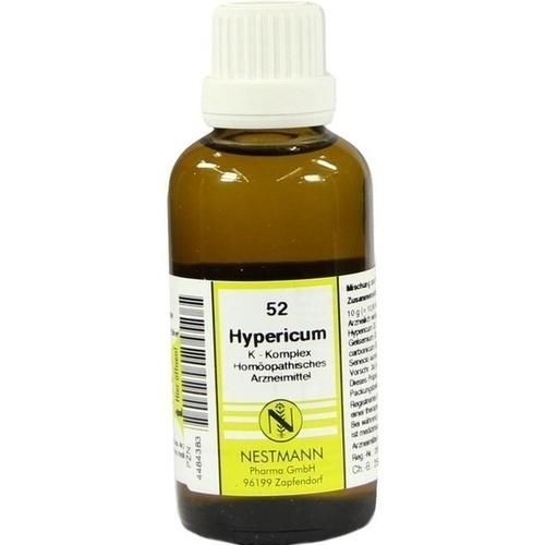 52 Hypericum K Komplex, 50 ML, Nestmann Pharma GmbH