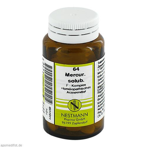 64 Mercur. solub. F Komplex, 120 ST, Nestmann Pharma GmbH