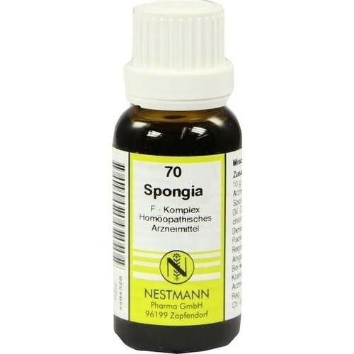70 Spongia F Komlex, 20 ML, Nestmann Pharma GmbH
