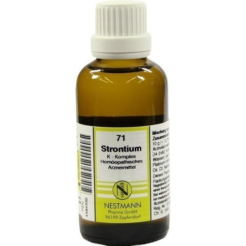 71 Strontium K Komplex, 50 ML, Nestmann Pharma GmbH