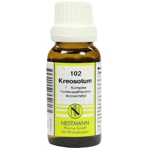 102 Kreosotum F Komplex, 20 ML, Nestmann Pharma GmbH