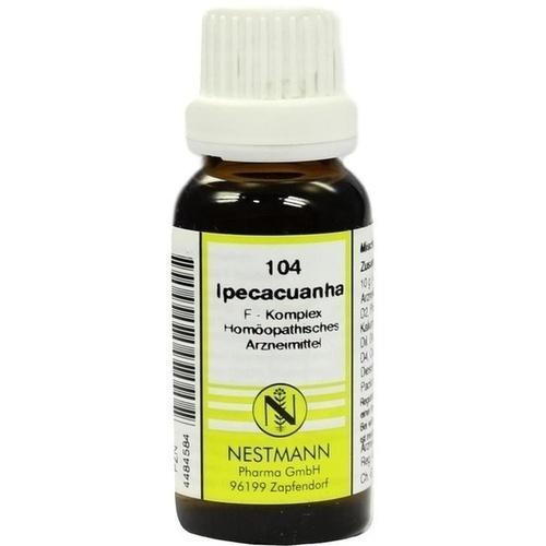 104 Ipecacuanha F Komplex, 20 ML, Nestmann Pharma GmbH