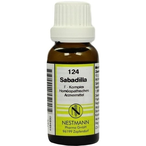 124 Sabadilla F Komplex, 20 ML, Nestmann Pharma GmbH