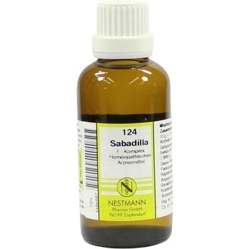 124 Sabadilla F Komplex, 50 ML, Nestmann Pharma GmbH