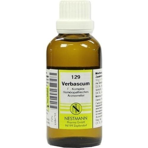 129 Verbascum F Komplex, 50 ML, Nestmann Pharma GmbH
