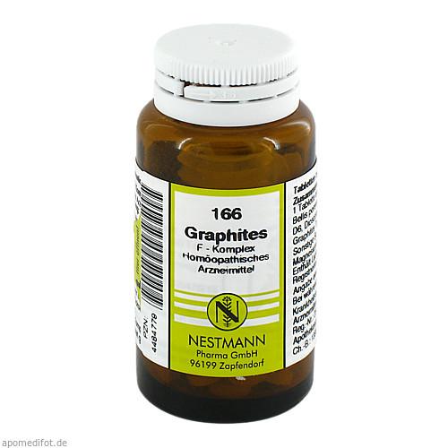 166 Graphites F Komplex, 120 ST, Nestmann Pharma GmbH